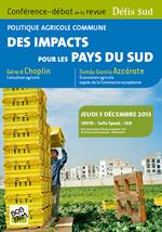 Conférence PAC le 5 novembre à Bruxelles